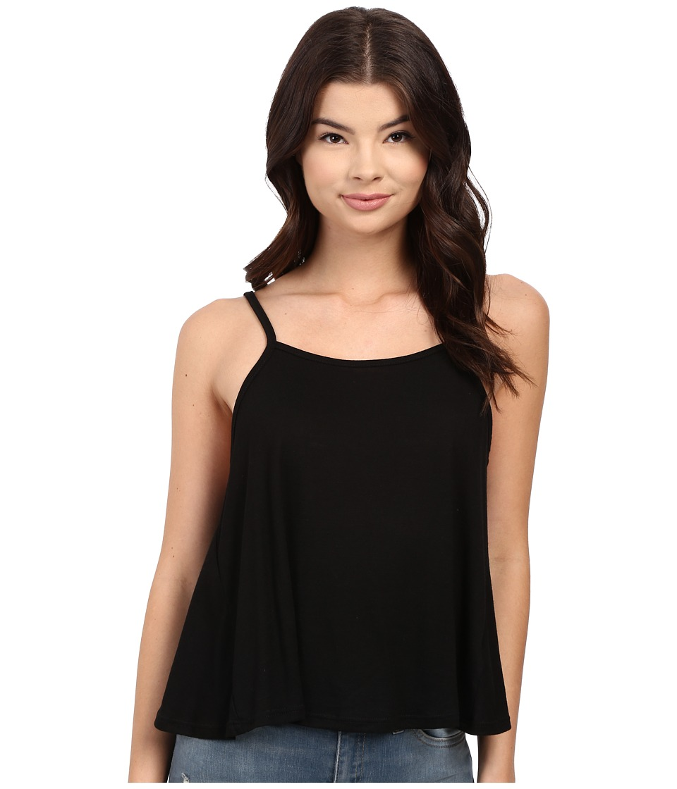 Obey - Anya Open Back Tank Top (Black) Women's Sleeveless