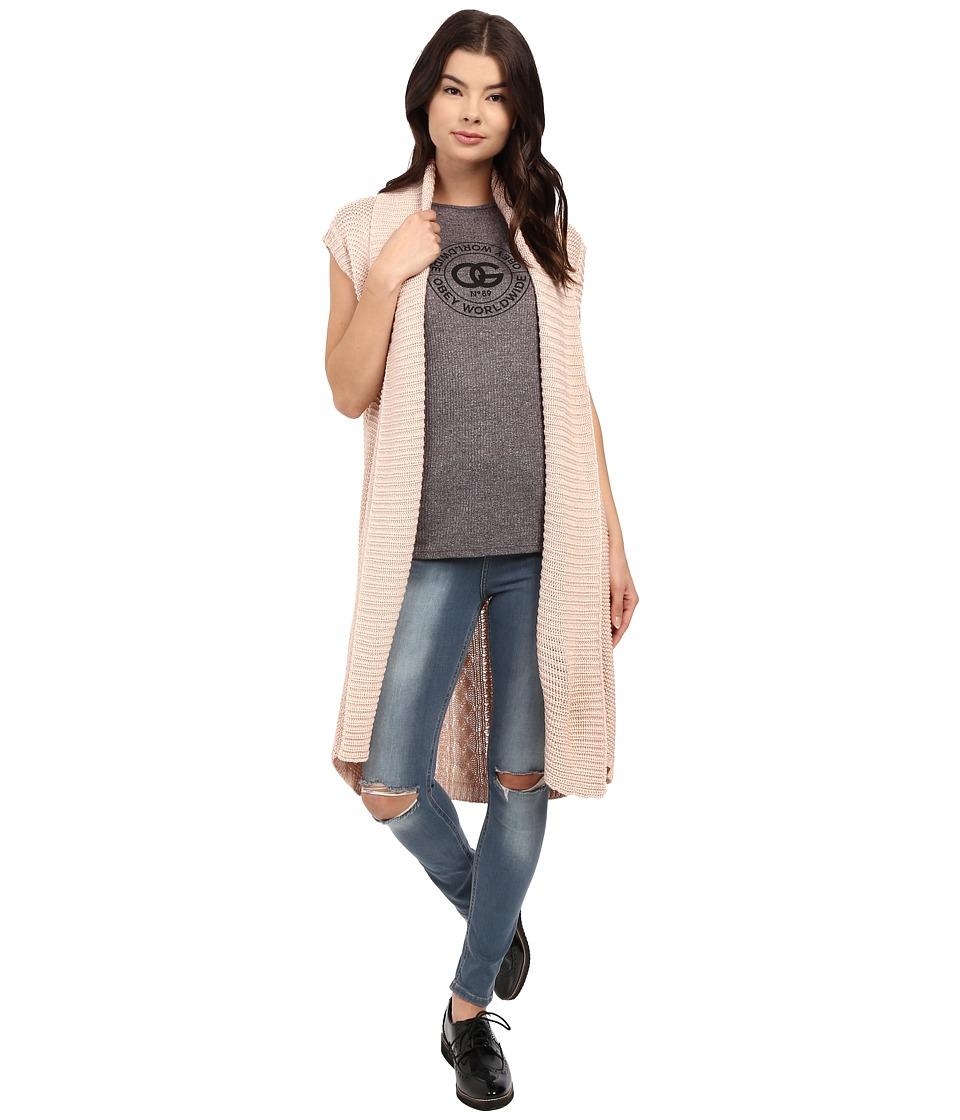 Obey - Leila Wrap (Rose Dust) Women's Sweater
