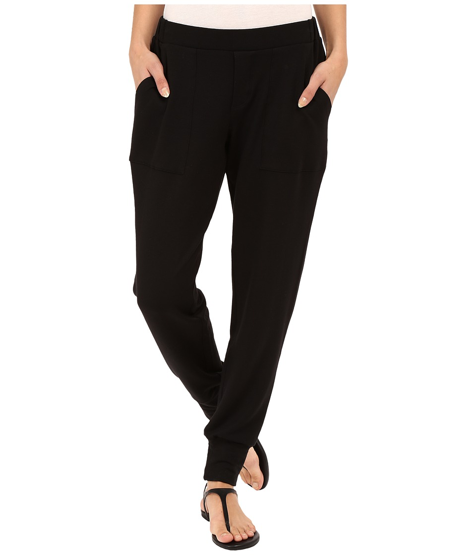 HEATHER - French Terry Jogger (Black) Women's Casual Pants