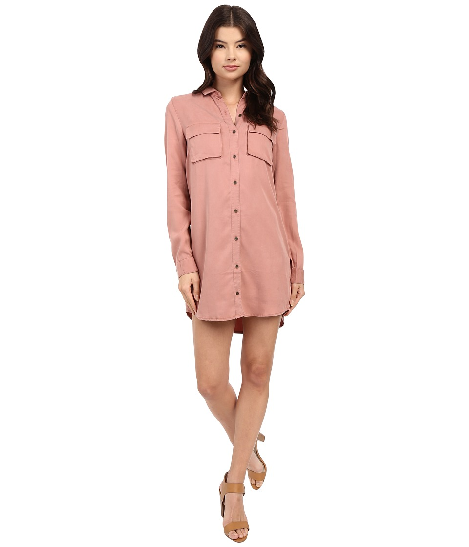 Obey - Jetset Dress (Ash Rose) Women's Dress