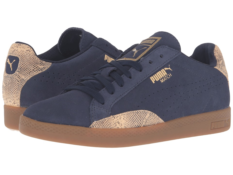 PUMA - Match Lo S Snake (Blue) Women's Shoes