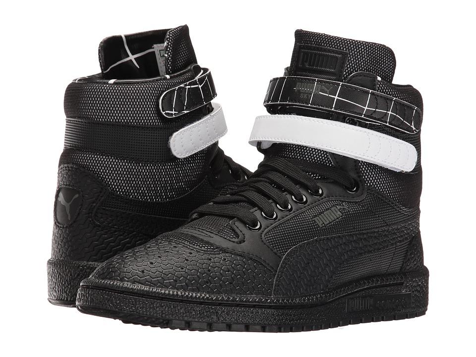 PUMA - Sky II Hi SF Texture (Black) Women's Shoes