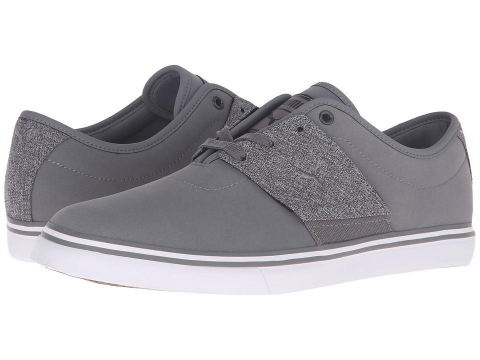 PUMA - EL Ace Nubuck Denim (Steel Gray/Dark Shadow) Men's Shoes