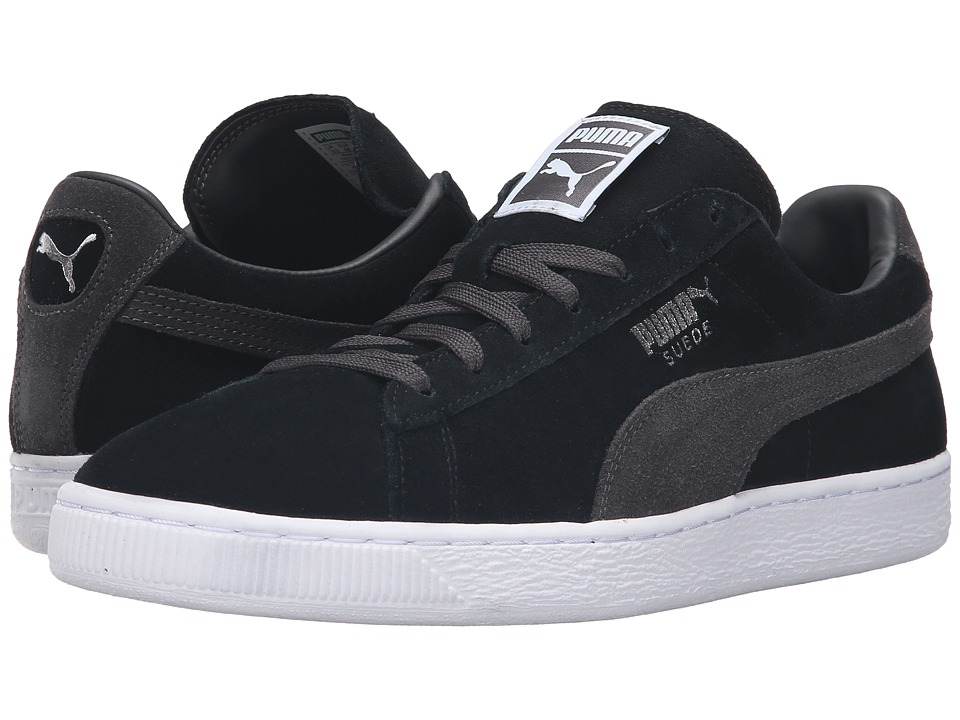 PUMA - Suede Classic + (Puma Black/Dark Shadow) Men's Shoes