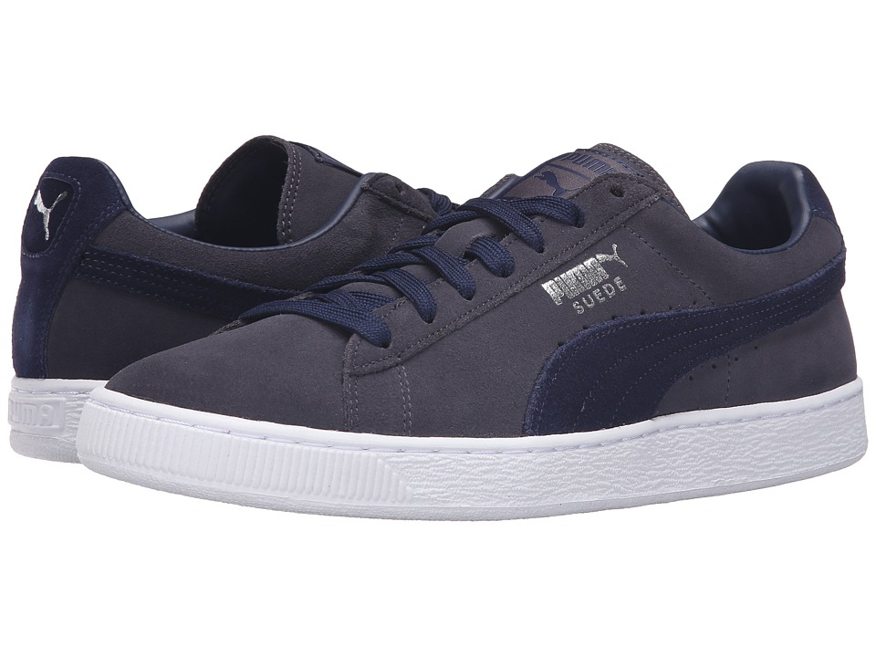 PUMA - Suede Classic + (Periscope/Peacoat) Men's Shoes