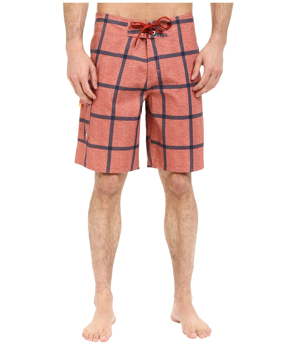 Quiksilver Waterman - Primetime Boardshort (Red Ochre) Men's Swimwear