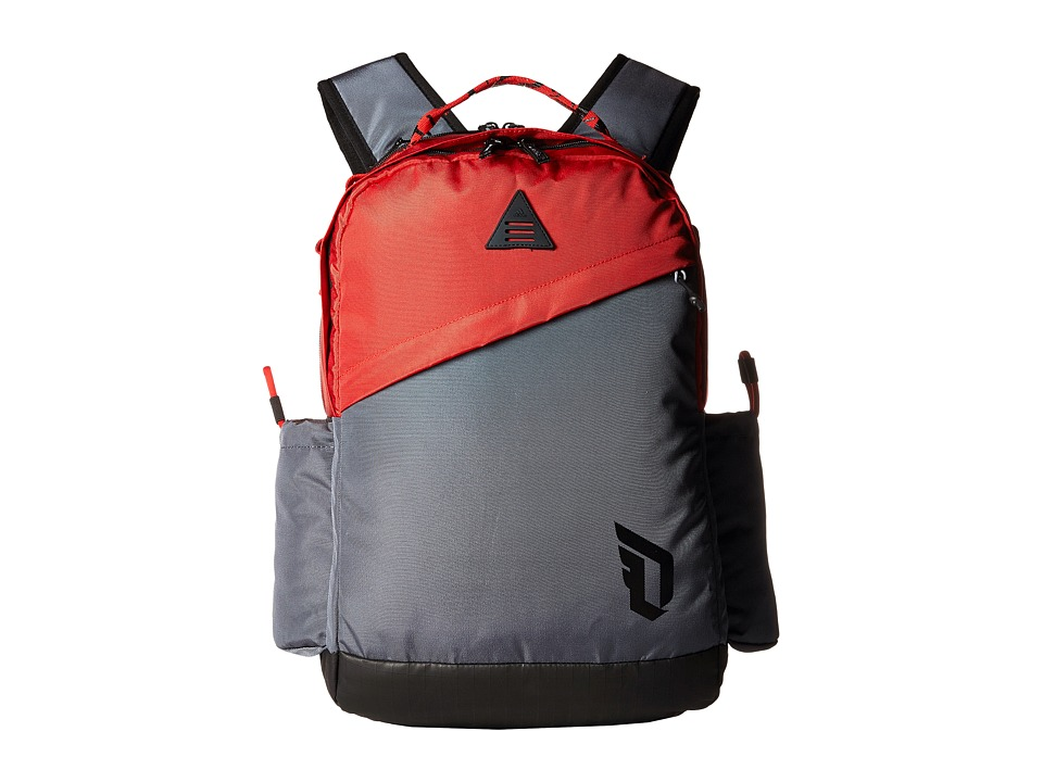 adidas - Dame Backpack (Scarlet/Deepest Space) Backpack Bags