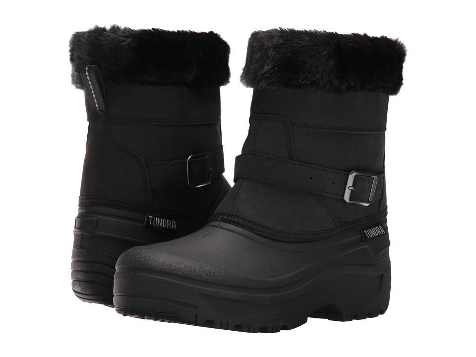 Tundra Boots - Sasy (Black) Women's Boots
