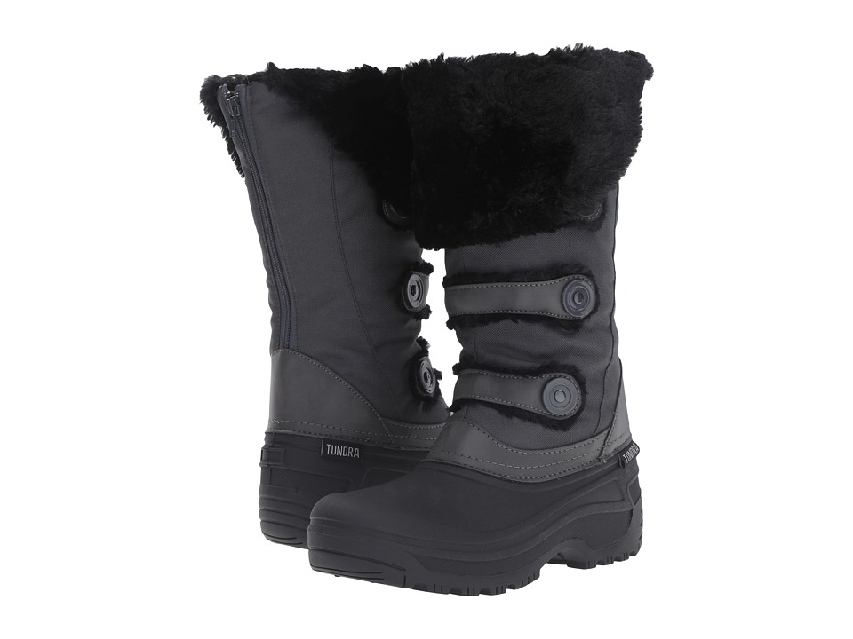 Tundra Boots Ella (Black/Charcoal) Women