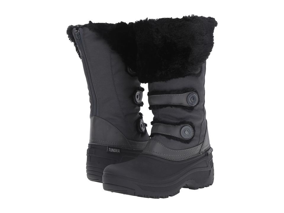 Tundra Boots - Ella (Black/Charcoal) Women's Boots