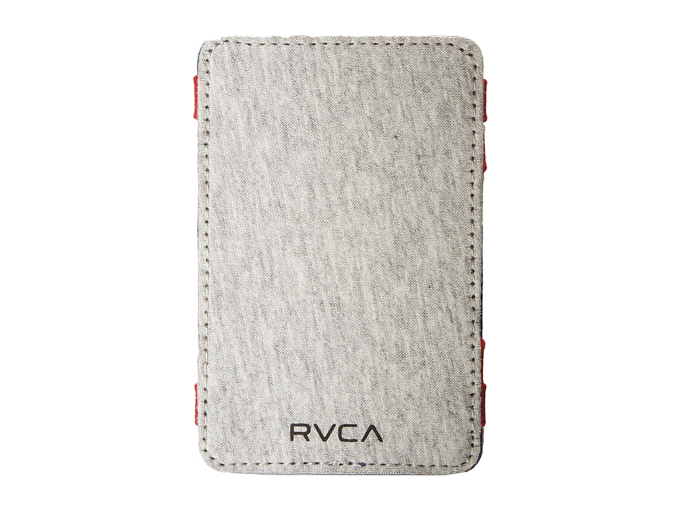 RVCA - Magic Wallet Select (Heather Grey) Bill-fold Wallet