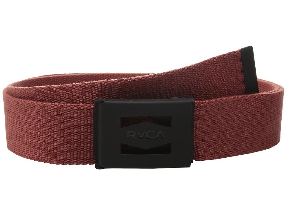 RVCA - Hayes Scout Belt II (Cinabar) Men's Belts