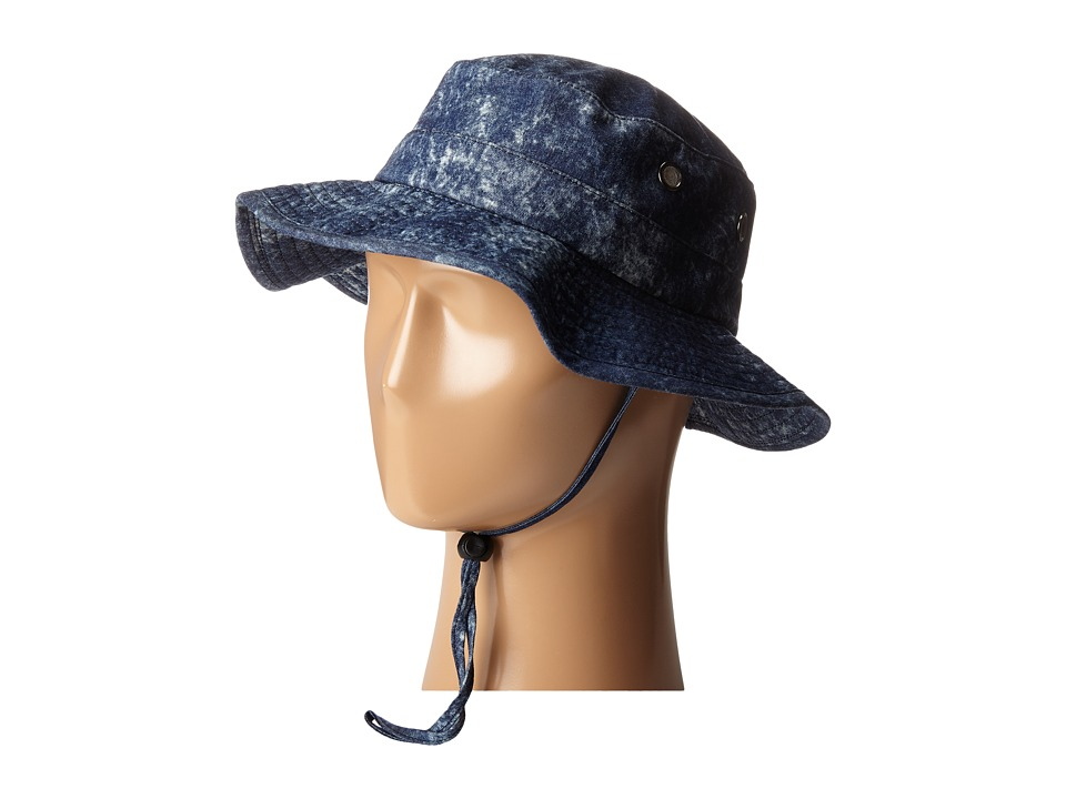 RVCA - Rouge Boonie Hat (Blue) Caps