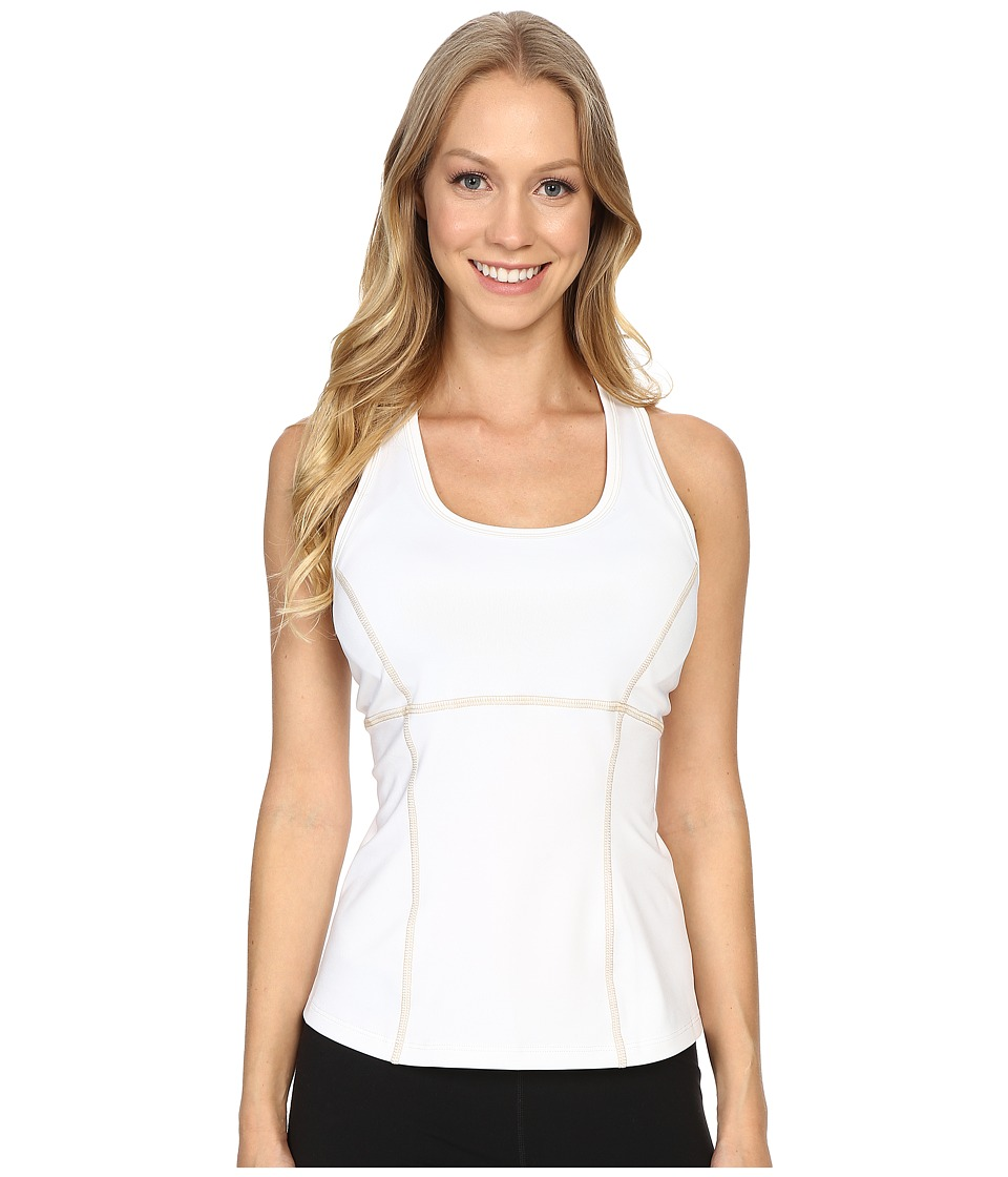 Alp-n-Rock - Summer Bloom Tank Top (White) Women's Sleeveless