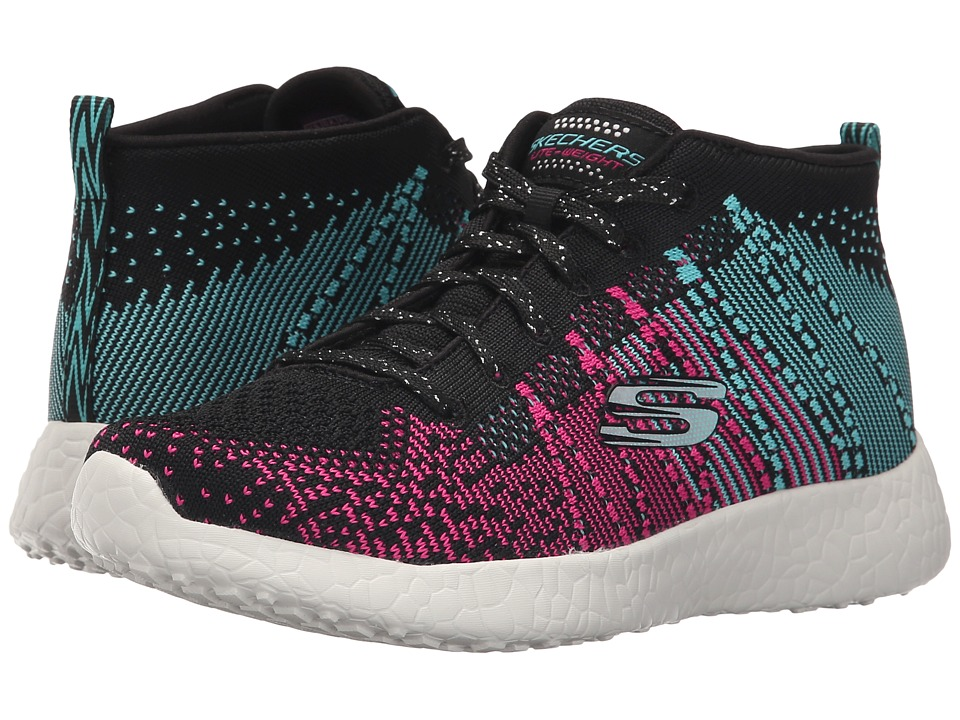 SKECHERS KIDS - Energy Burst - Sweet Symphony 81909L (Little Kid/Big Kid) (Black/Blue/Pink) Girl's Shoes