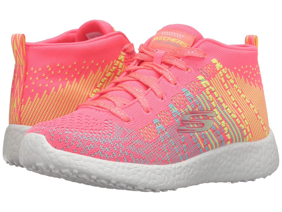 SKECHERS KIDS - Energy Burst - Sweet Symphony 81909L (Little Kid/Big Kid) (Hot Pink/Multi) Girl's Shoes