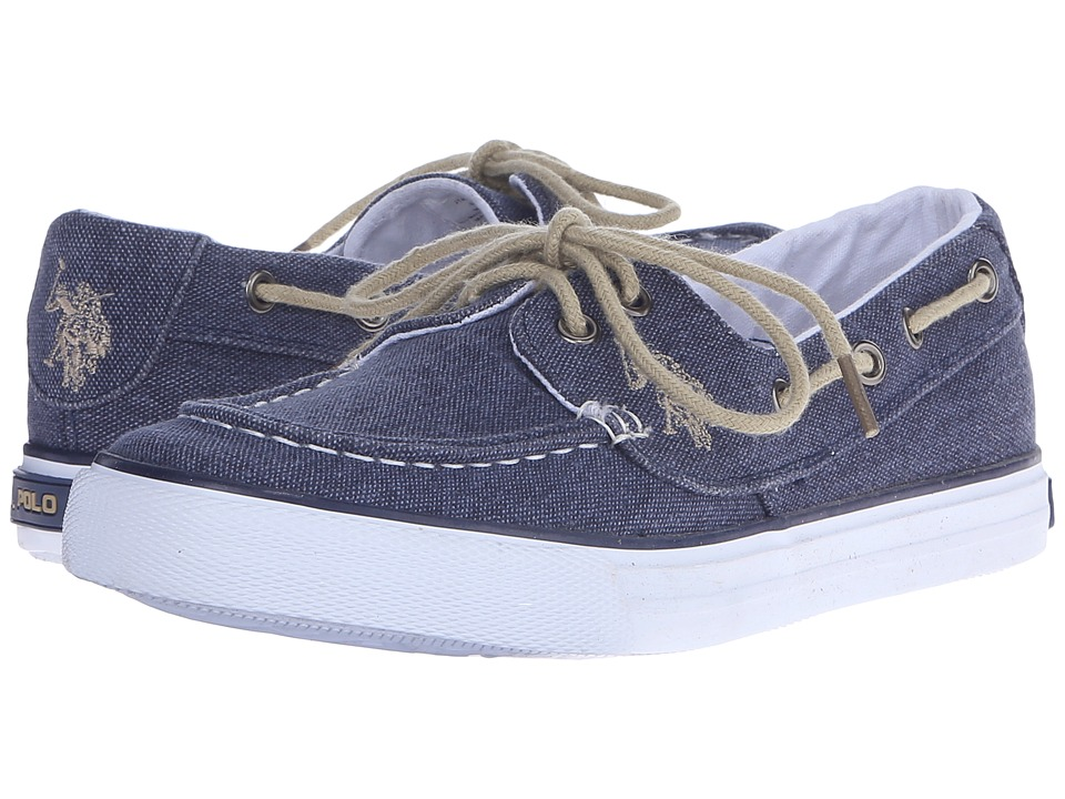 U.S. POLO ASSN. - Mate (Navy Wash Denim) Women's Shoes