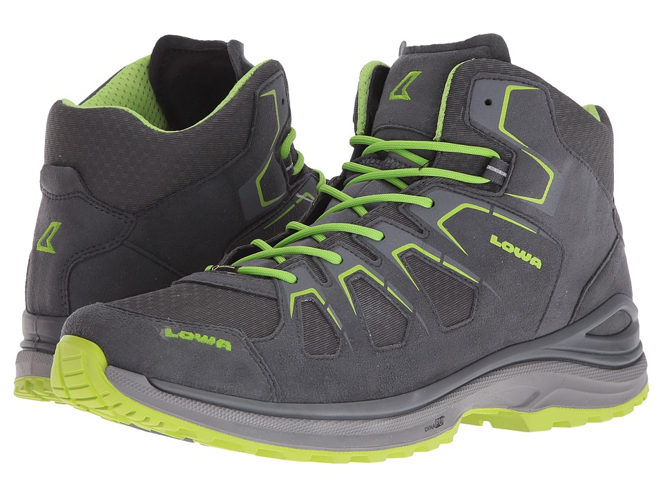Lowa - Innox EVO GTX QC (Graphite/Lime) Men's Boots