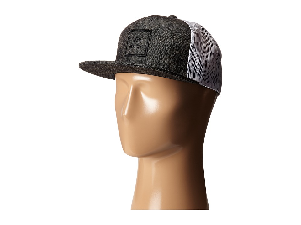 RVCA - VA All The Way Trucker (Pirate Black) Caps