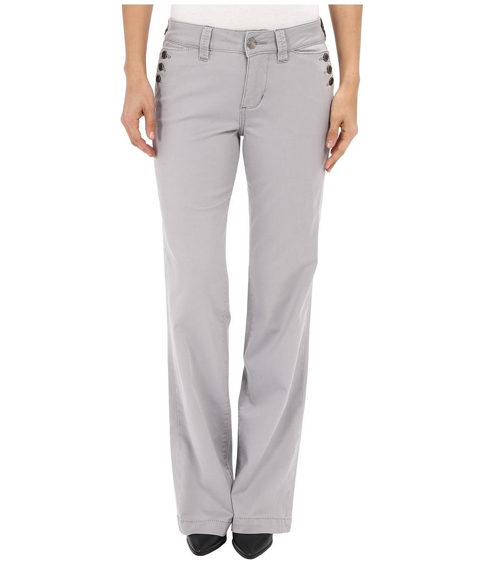 Jag Jeans - Farrah Wide Leg in Bay Twill (Grey Morn) Women's Jeans