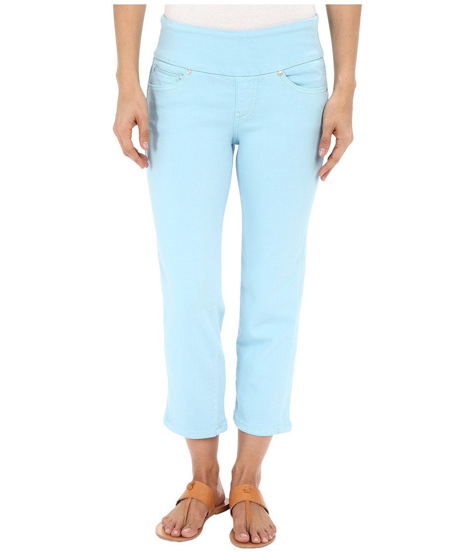 Jag Jeans - Echo Pull-On Classic Fit Crop in Dolce Twill (Azure) Women's Jeans