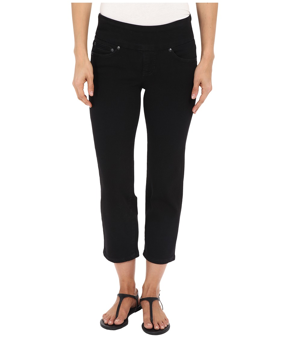 Jag Jeans - Echo Pull-On Classic Fit Crop in Dolce Twill (Black) Women's Jeans