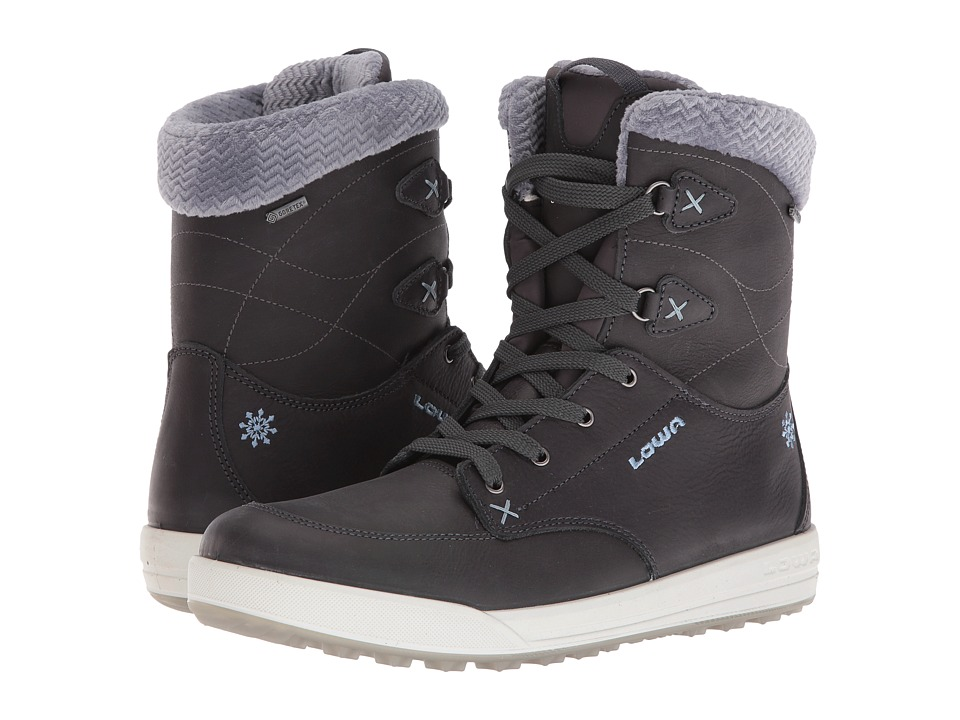 Lowa Melrose GTX(r) Mid (Anthracite/Blue) Women