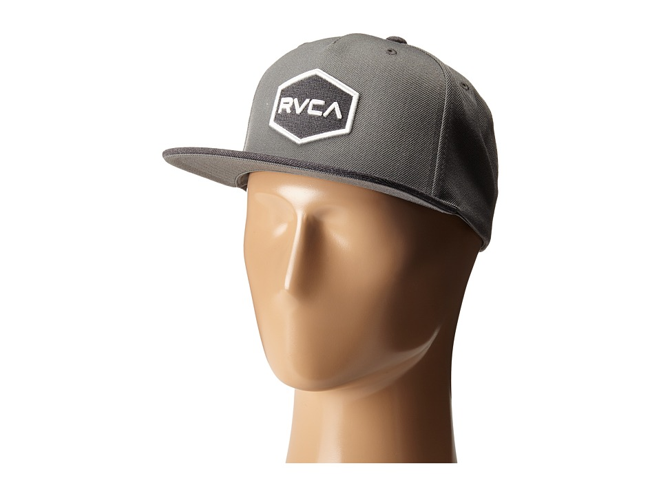 RVCA - Commonwealth Snapback (Grey) Baseball Caps