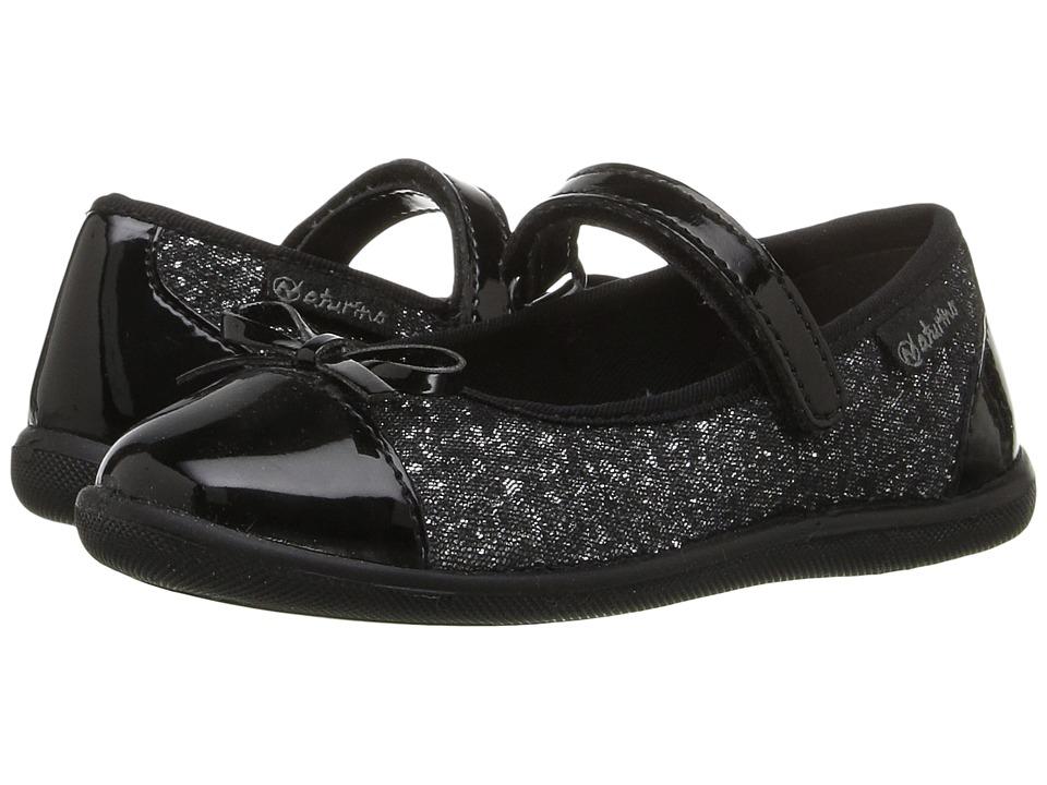 Naturino - Nat. 8063 AW16 (Toddler/Little Kid/Big Kid) (Black) Girl's Shoes