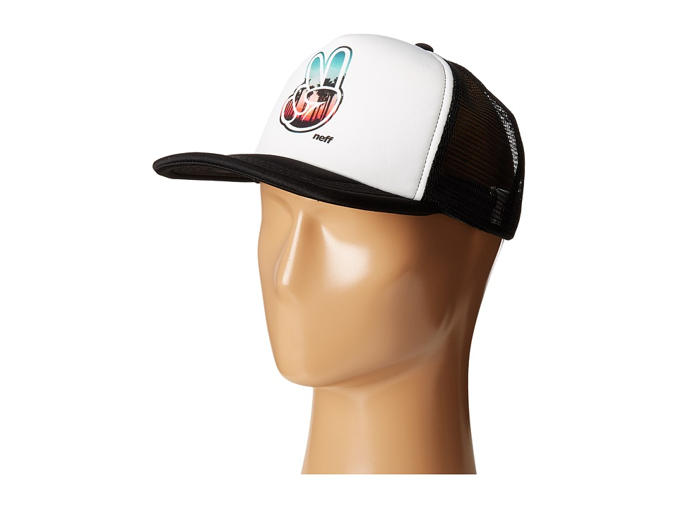 Neff - Jackson Trucker (Black 1) Caps