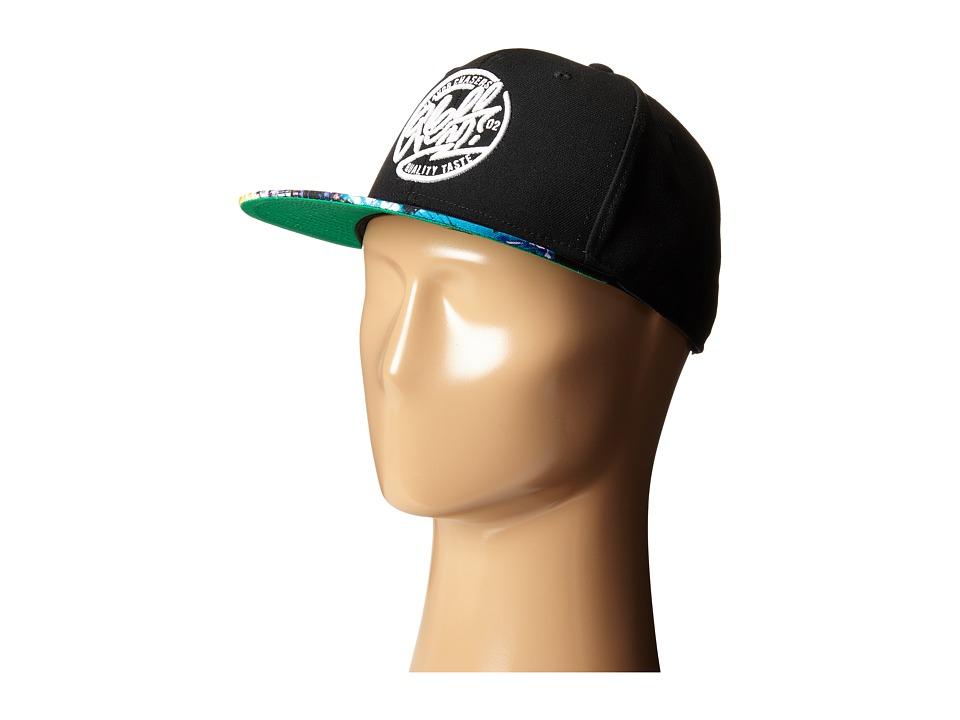 Neff - City Crew Cap (Black) Caps