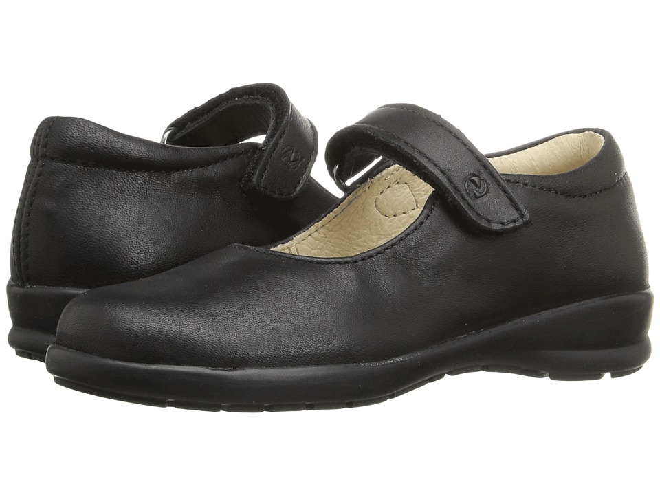 Naturino - Nat. 4465 AW16 (Toddler/Little Kid/Big Kid) (Black Leather) Girl's Shoes