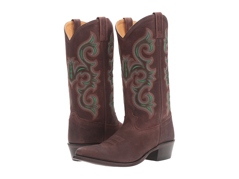 Old West Boots 5501 (Red Brown) Cowboy Boots