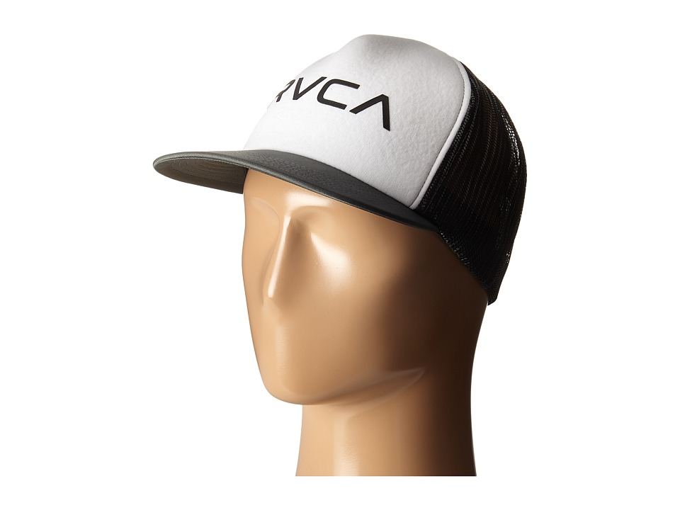 RVCA - Jetty Trucker (White) Caps