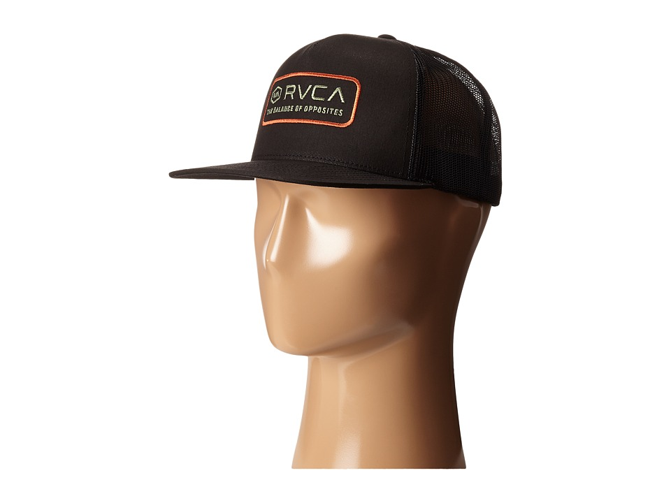 RVCA - Dexford Trucker (Black) Caps