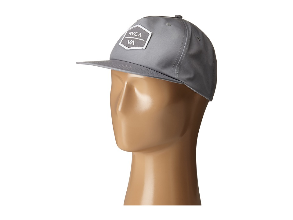 RVCA - Encore Five Panel (Light Grey) Caps