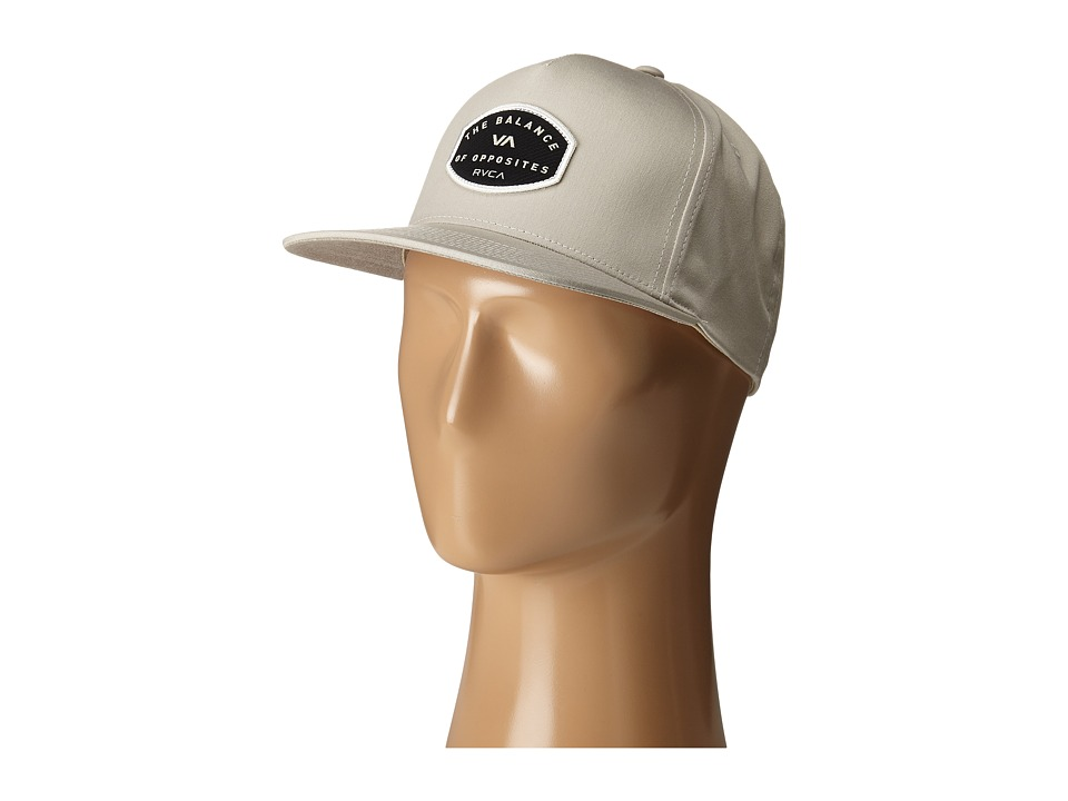 RVCA - Balance Sheild Five Panel (Beige) Caps