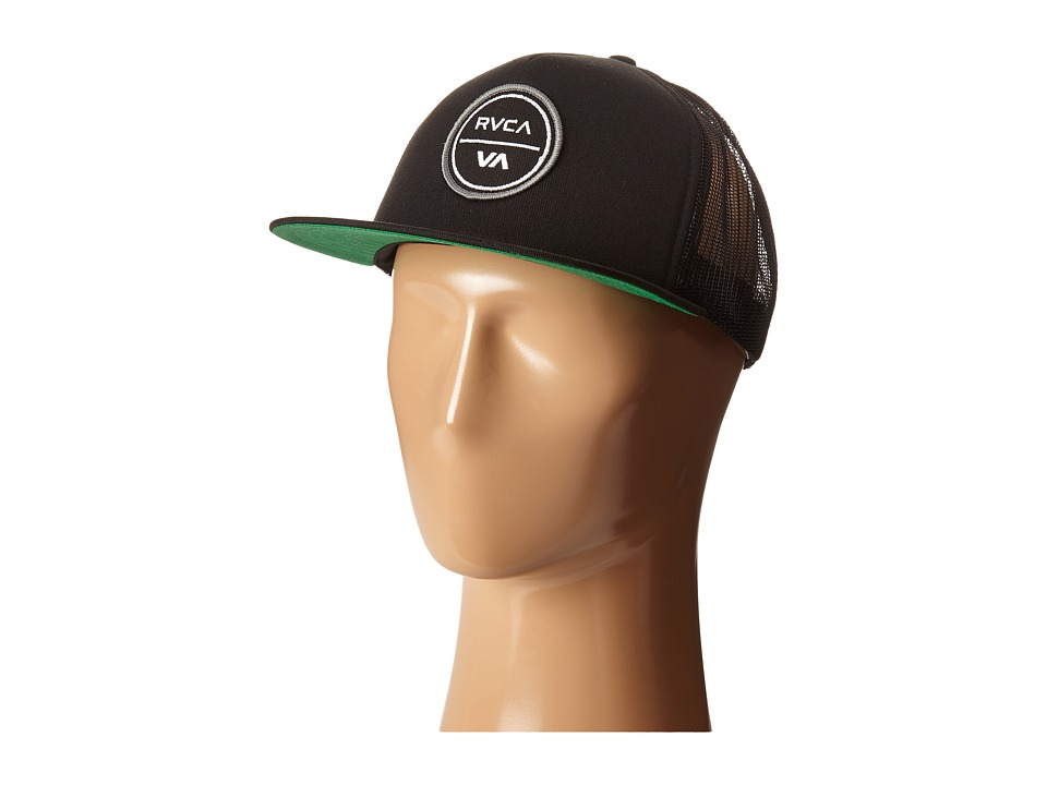 RVCA - Tafft Trucker (Black) Caps