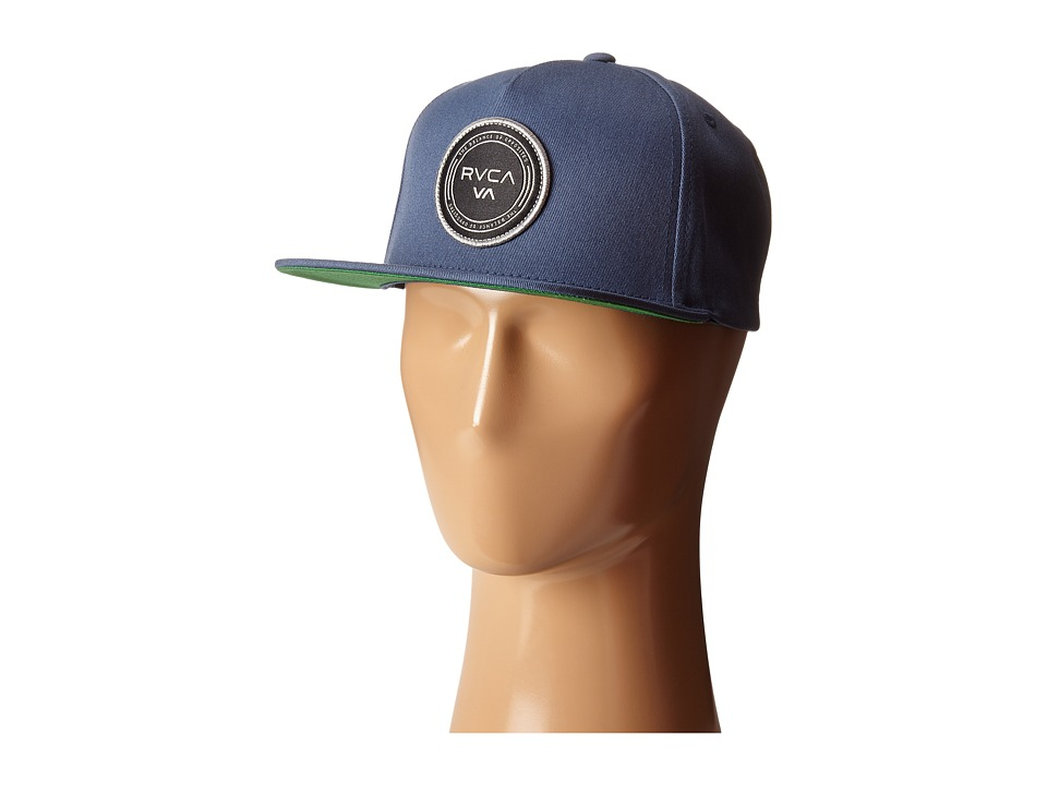 RVCA - Atlantic Five Panel (Sea Blue) Caps