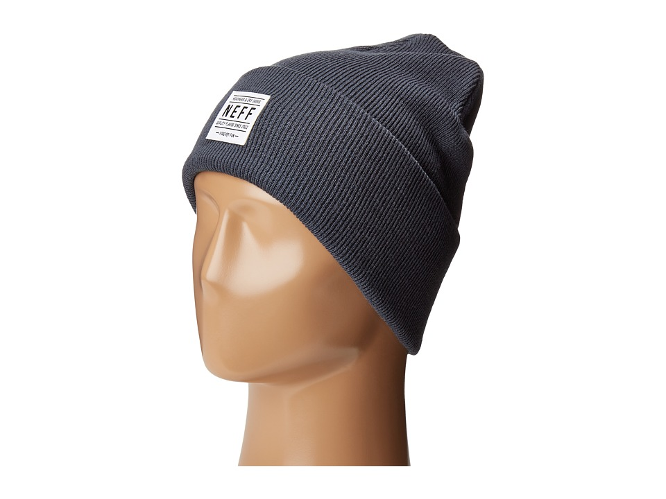 Neff - Lawrence Beanie (Charcoal Heather) Beanies