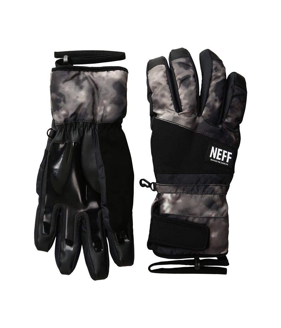 Neff - Digger Glove (Black/Crystal) Snowboard Gloves