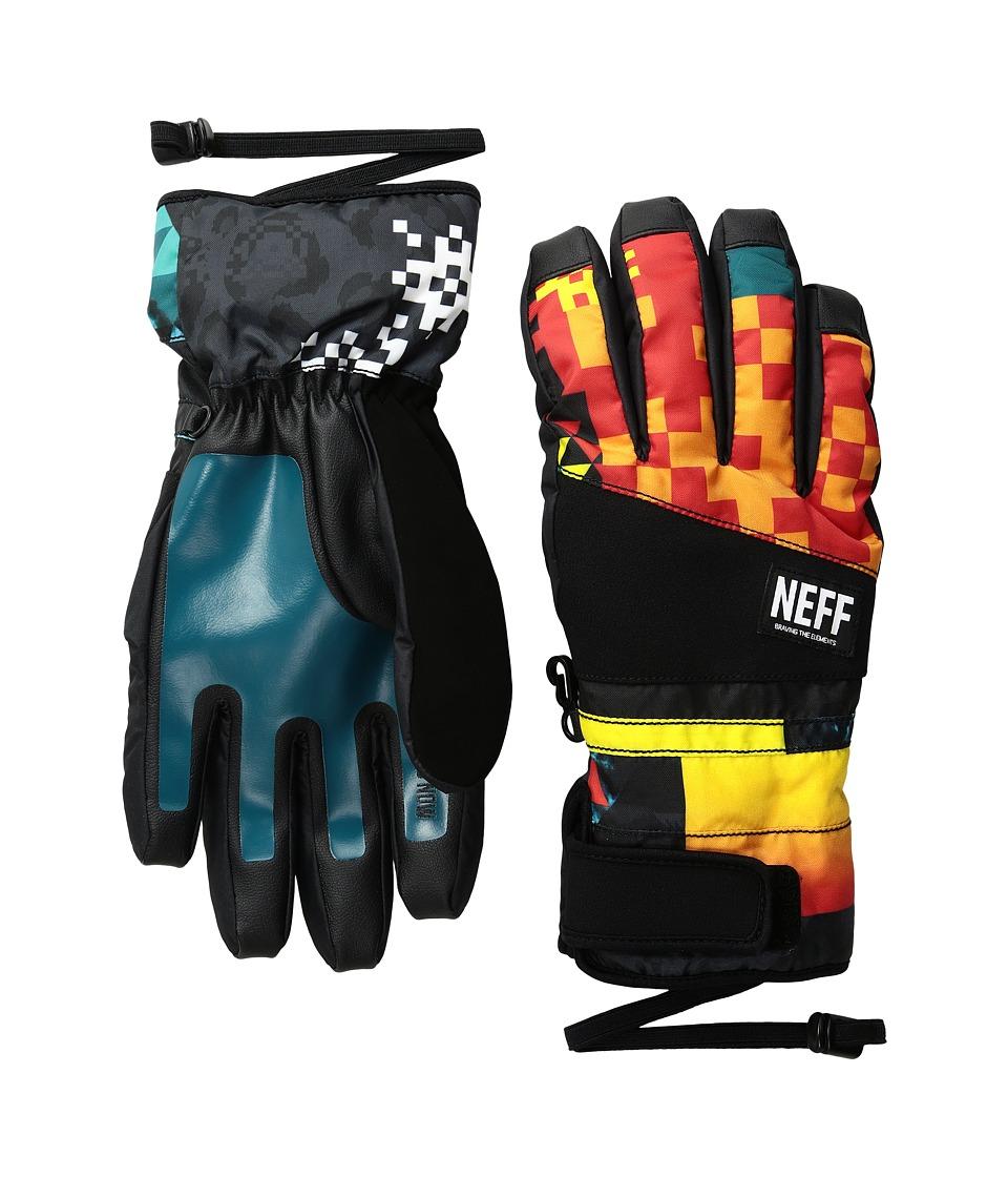 Neff - Digger Glove (Psychosafari) Snowboard Gloves