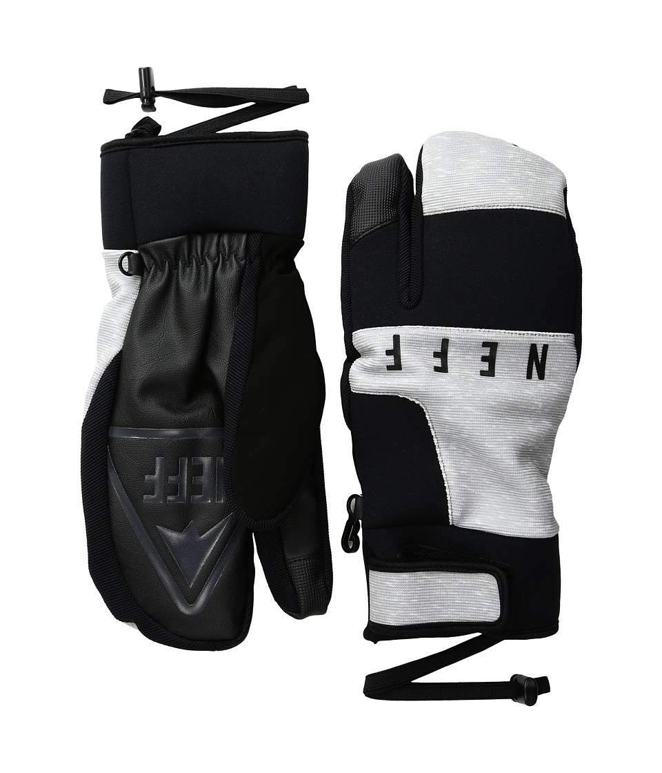 Neff - Klaw Mitt (Grey) Over-Mits Gloves