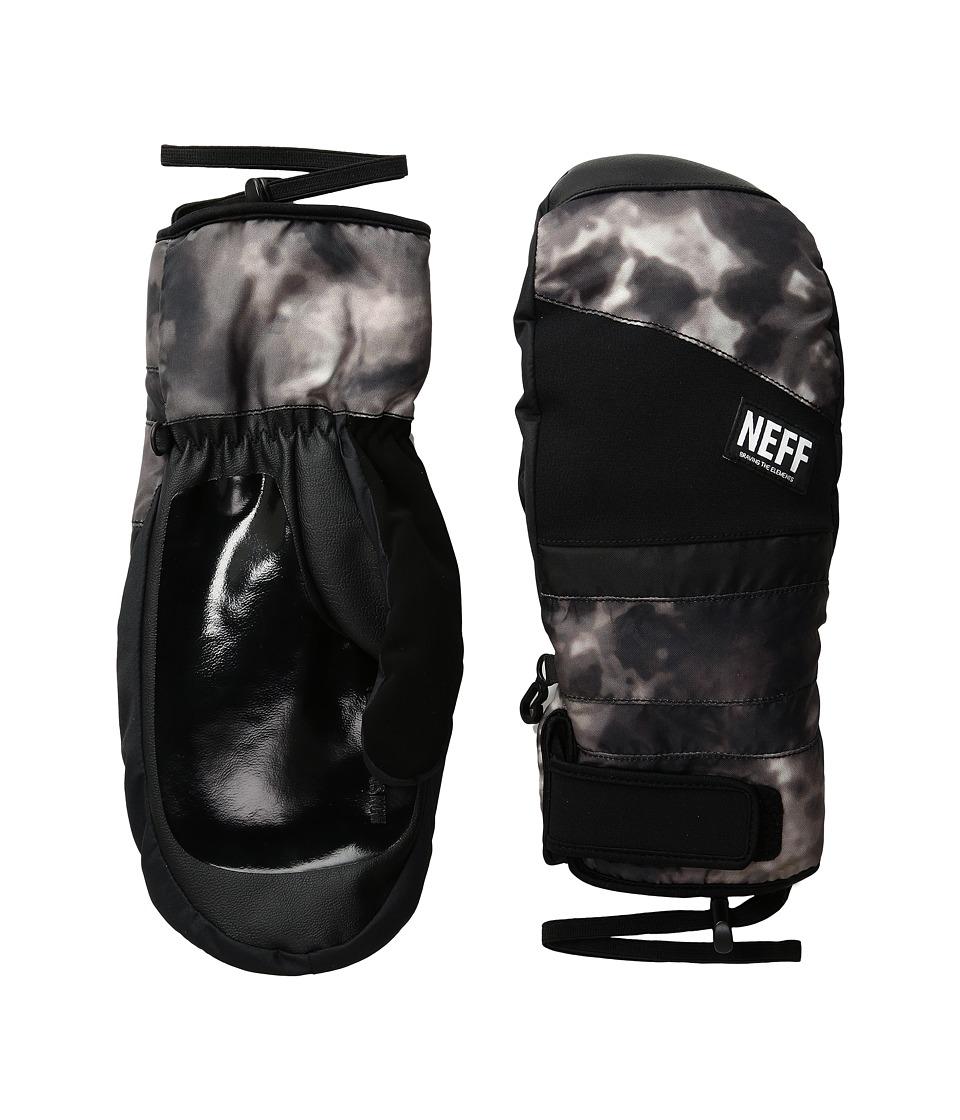 Neff - Digger Mitt (Black/Crystal) Snowboard Gloves