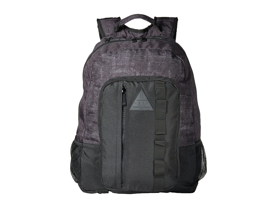 Neff - Renegade Backpack (Black) Backpack Bags