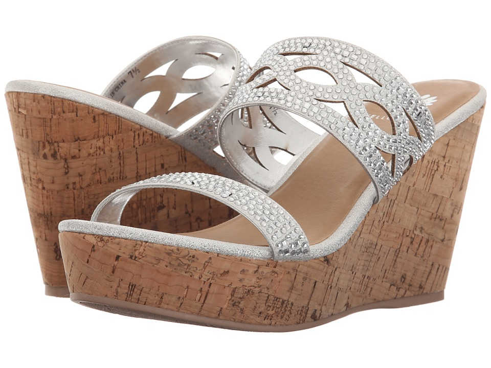 Yellow Box - Camellia (Silver) Women's Sandals