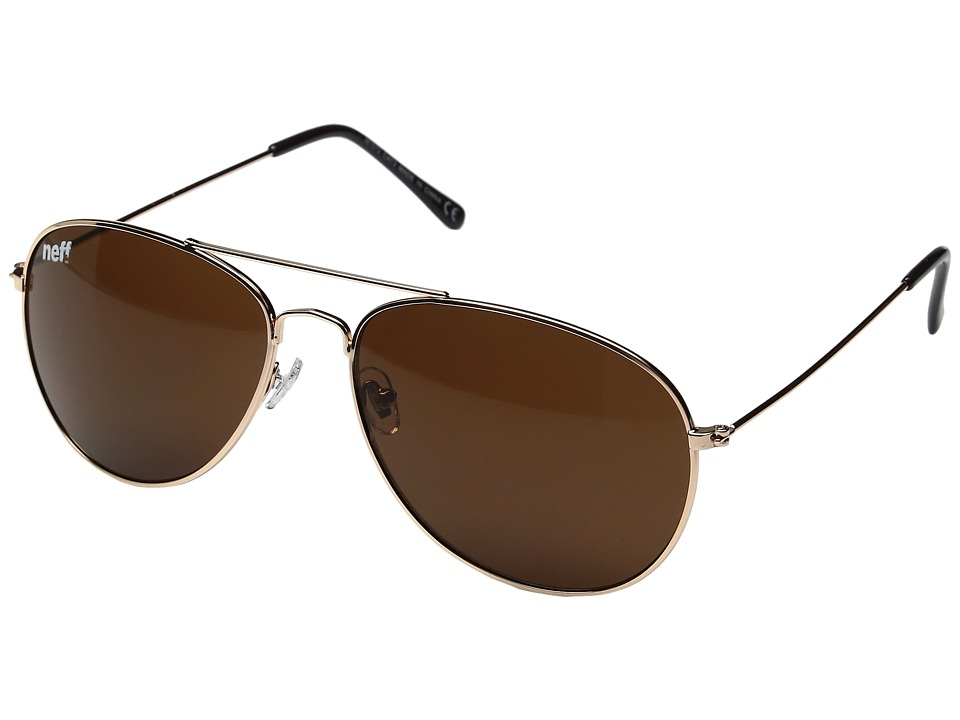 Neff - Bronz Shades (Gold) Sport Sunglasses