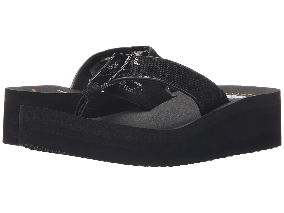 Yellow Box - Guppy (Black) Women's Sandals
