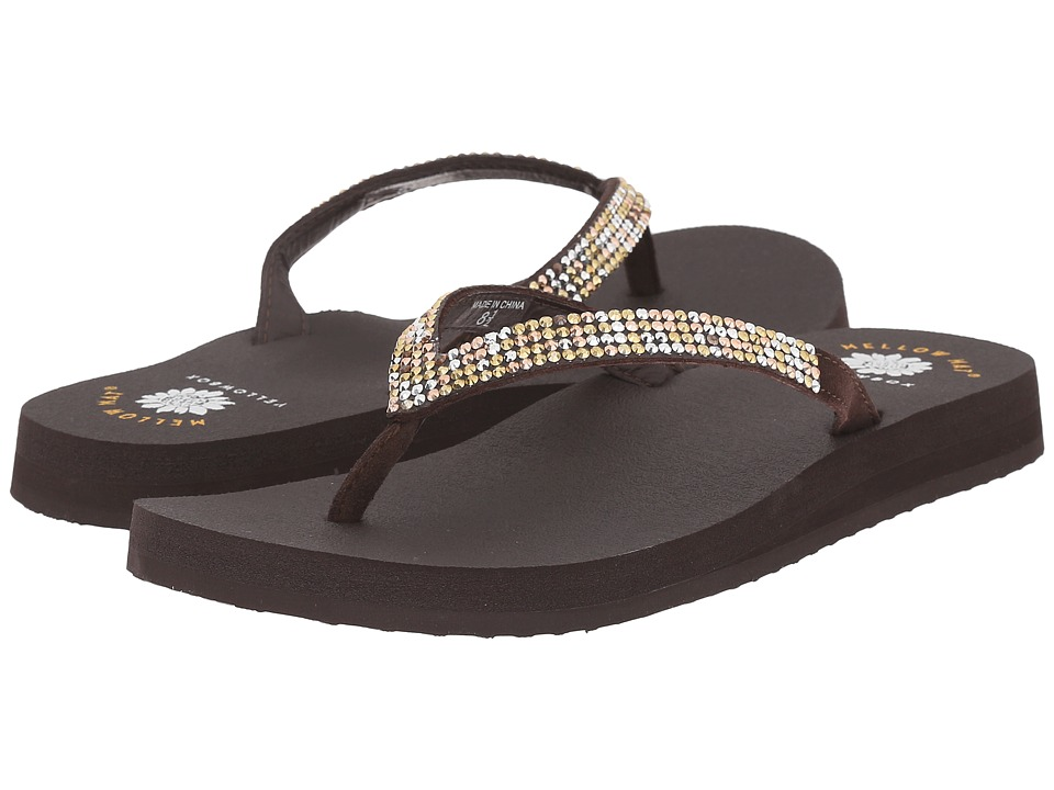 Yellow Box - Ricki (Brown Multi) Women's Sandals