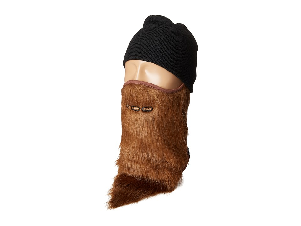 Neff - Bearded Facemask (Brown 1) Snowboards Sports Equipment